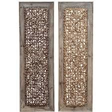 panel wood wall décor set reviews birch