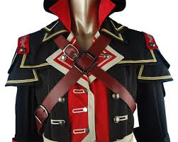 Assassins Creed Halloween Costume Kids Creed Rogue Shay Patrick Cormac Unigform Hoodie Halloween