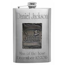 personalize wedding gifts buy personalized wedding gift flasks with free engraving for the groom