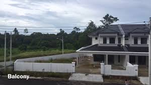 new housing project double storey intermediate houses for sale
