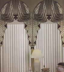 Curved Window Curtains Arched Window Treatments I Like This But Will Block Chandelier