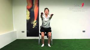 Chair Squat Hip Exercise Banded Chair Squat Youtube