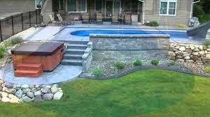Blue Ridge Landscaping by Stone Ridge Landscaping Inc Pool Plantings U0026 Retaining Walls