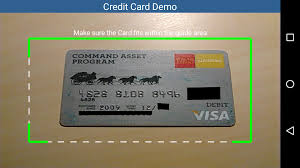 credit card apps for android credit card recognition sdk technology leadtools