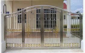 metal fence gate decor references