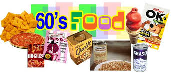 cuisine s 60 vintage food from the 60 s