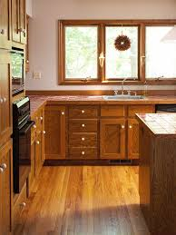 Bhg Kitchen Makeovers - before and after traditional meets trendy kitchen