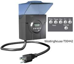 outdoor light timer instructions westinghouse timers and manuals