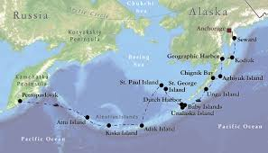 map of aleutian islands vent birding tours alaska with the aleutian islands