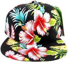 floral snapback high quality twill hawaiian print floral snapback hats fresh