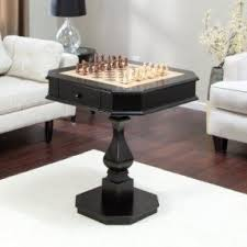 Chess Table And Chairs Multi Game Tables Foter