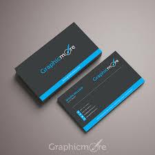 Business Card File U0026 Blue Business Card Template U0026 Mockup Design Free Psd File