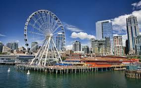 How Big Is 550 Square Feet Seattle U0027s Ferris Wheel At Pier 57 Seattle Great Wheel