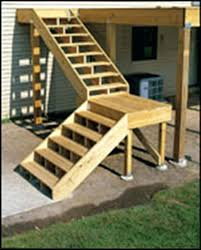 Deck Stairs Design Ideas Building Deck Stairs With A Landing Deckers Fishing Map Decked