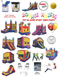 party rentals sacramento bounce house rentals sacramento
