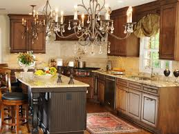 furniture elegant kithen with hickory kitchen cabinets and marble