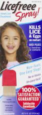 licefreee spray instant head lice treatment 6 0 fl oz walmart com