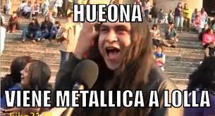 Metallica Meme - especial los mejores memes del anuncio de metallica en