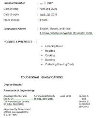 Examples Of Resumes Good Resume Bad Example Choose 14 Great by How To Write Impressive Resume For Scholarship Professional