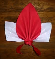 pliage de serviette en papier 2 couleurs feuille pliage de serviette de table en forme de feuille d u0027érable plier