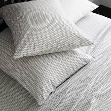 Duvet And Sheet Set Organic Ikat Stripe Sheet Set West Elm
