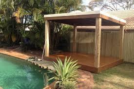 Pergola Roof Options by Pergolas U0026 Outdoor Features Aarons Outdoor Living