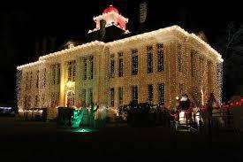 johnson city christmas lights cities spread the holiday joy all around texas san antonio express