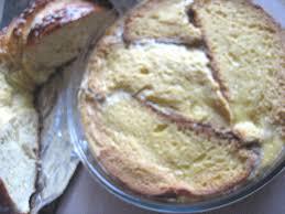 la cuisine de valerie j ai teste le pudding a la fouace de valerie la cuisine de