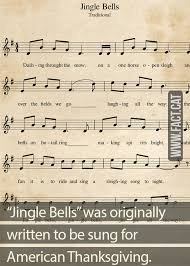 jingle bells was originally a thanksgiving song