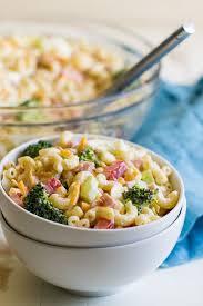 Best Salad Recipes The Best Macaroni Salad Recipe Culinary Hill