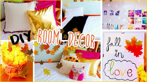 DIY Room Decor for Fall No Sew Pillows Tumblr Inspired
