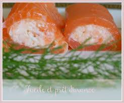 canap au saumon fum et mascarpone roulés à la mousse de saumon fumé cooking