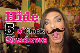 how to hide a 5 o clock shadow trans s or drag queens