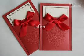 Red Wedding Invitations Modern Wedding Invitations For You Red Card Wedding Invitations