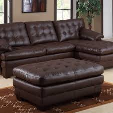 Sectional Sofa Living Room Ideas Furniture Leather Sectional Sofa With Brown Furry Rug For Living