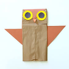 How To Make A Paper Beak - who s who owl craft for buggy and buddy