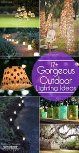 how to hang outdoor lights without walls what an easy and