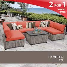 Patio Wicker Furniture Set - 7 piece outdoor wicker furniture outside furniture for sale