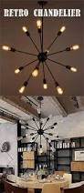 edison bulb chandelier in this new conference room knation