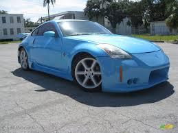 Nissan 350z Custom - 2003 custom blue pearl nissan 350z enthusiast coupe 36963584