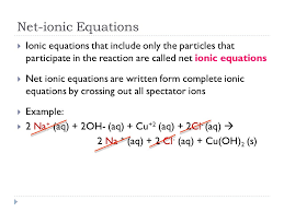 how to write ionic equations jennarocca