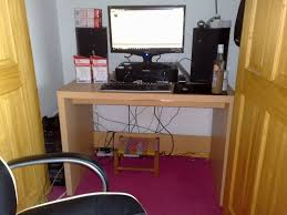Computer Game Desk by What Kind Of Desk Do You Game On Anandtech Forums