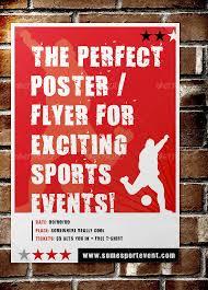 free event poster templates 28 best sport flyer templates wakaboom
