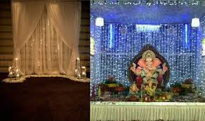 decoration themes for ganesh festival at home ganesh chaturthi 2016 simple yet insanely beautiful decoration