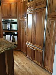 Kitchen Floors With Cherry Cabinets Restaining Finishing Hardwood Floor What Works With Cherry Cabinets