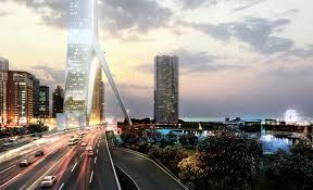 porsche design tower construction gensler u0027s gateway tower picks up where calatrava u0027s chicago spire