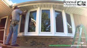 bow window installation morton il renewal by andersen youtube