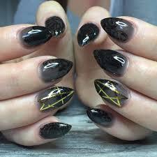 Nail Art Design Black 49 Black Nail Art Designs Ideas Design Trends Premium Psd