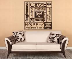 christian wall decor plus church wall decals plus personalized