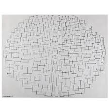 Mondrian Collection Rugs Vintage Persian U0027piet Mondrian U0027 Style Deco Rug For Sale At 1stdibs